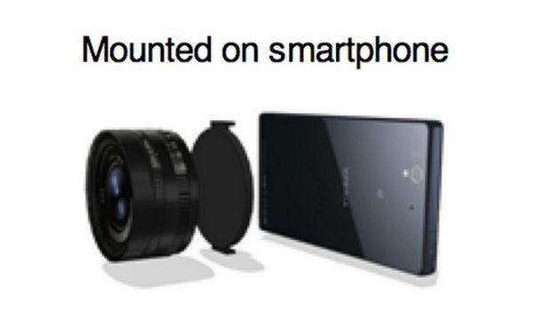 Gibt es bald vollwertige Objektive für Smartphones? (Bild: Sony Alpha Rumors)