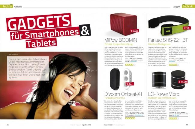Gadgets (2 von 6 Seiten)