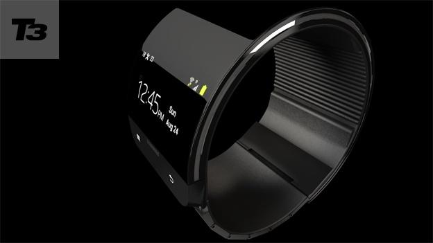 Die Galaxy Gear ist möglicherweise das erste Gerät mit Samsungs flexibler Display Technologie. Foto: T3n.