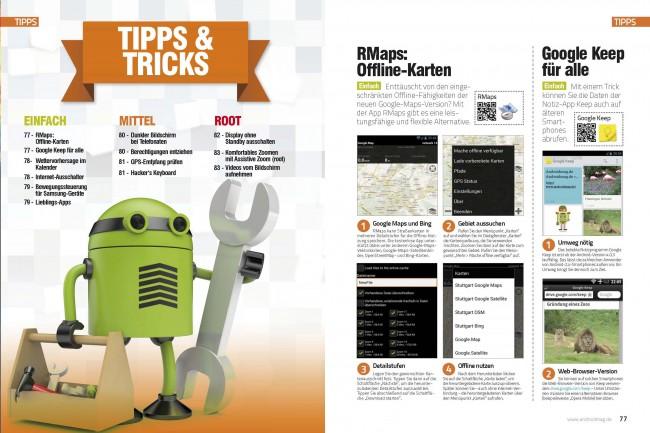 Übersicht Tipps & Tricks