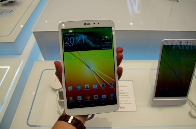 Das LG G Pad 8.3 könnte sich zu einem iPad Mini-Gegner mausern.