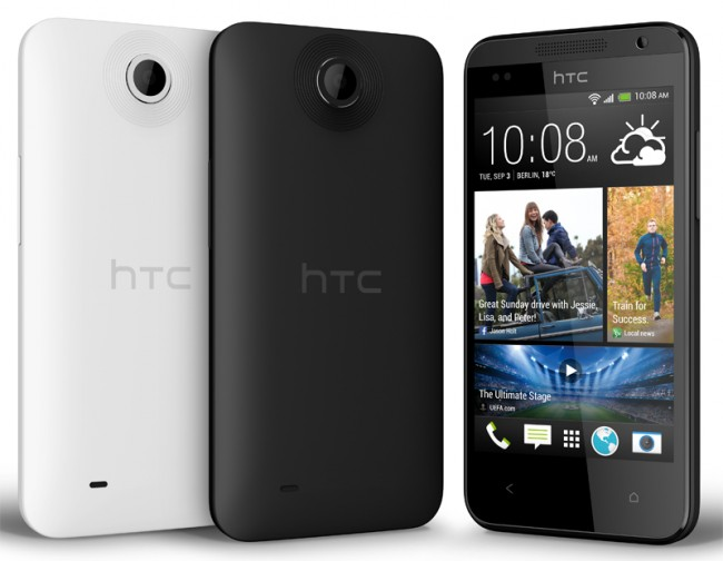 Das Einsteiger Smartphone HTC Desire 300 soll mit dem vom HTC One bekannten Blinkfeed Feature überzeugen. Foto: HTC.