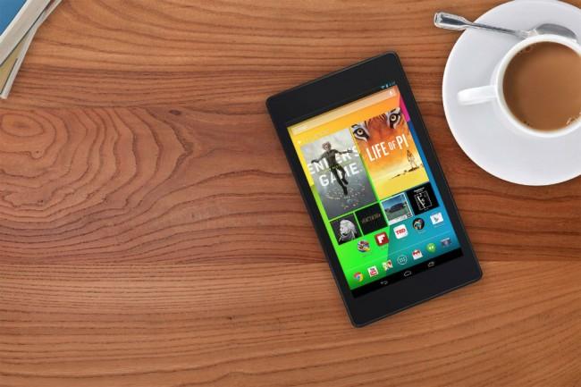 Das neue Nexus 7 kommt auch in einer LTE-Variante auf den Markt. Foto: Google.