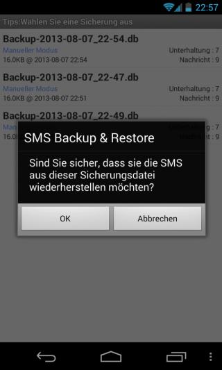 SMS Backup Restore 06