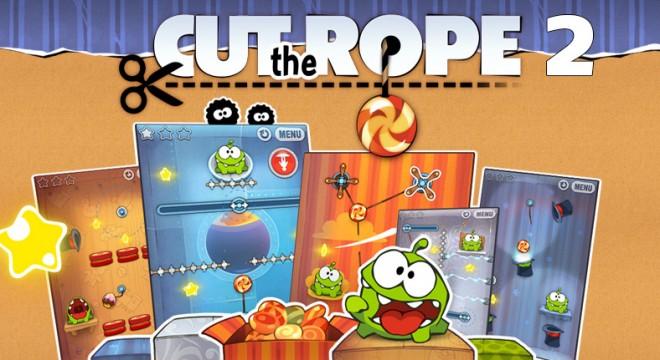 """Die Version 2 von """"Cut the Rope"""" kommt noch in diesem Jahr (Grafik: Zeptolab)"""