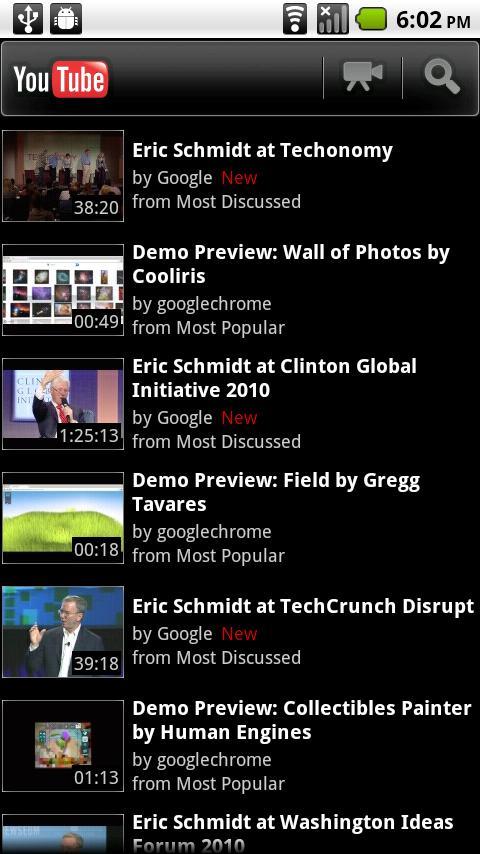 Die YouTube-App wird bald um eine Funktion reicher sein. (Quelle :android-hilfe.de)