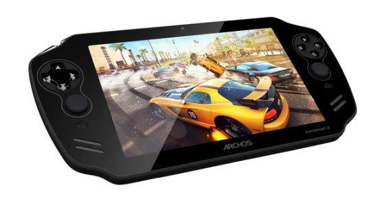 Das Archos GamePad 2 soll mit besserem Display, schnellerem Prozessor und mehr RAM die Schwachstellen des Vorgängers beheben. (Bild: Archos)
