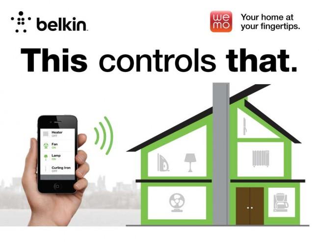 Diverse Haushalts- und Elektrogeräte lassen sich bequem mit den WeMo-Adaptern von Belkin steuern. (Bild: Belkin)