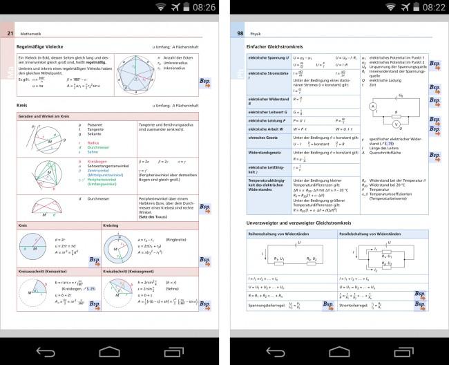 """In der """"Formelsammlung von Duden"""" findest du für die Fächer Mathematik, Physik, Astronomie, Chemie, Biologie und Informatik alle Formeln und Wertetabellen, die beim Abitur wichtig sind."""