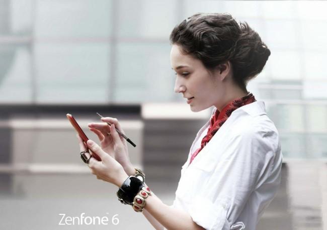 Das ZenFone 6 lässt sich mit Kulis und Bleistiften bedienen.