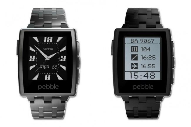 Der Nachfolger der Pebble Smartwatch ist die neue Steel, die jetzt für 199 Dollar erhältlich ist.