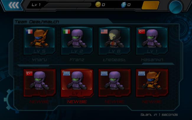 Im Mode Team Deathmatch treten zwei gleich große Teams im Schlachtfeld gegenüber.