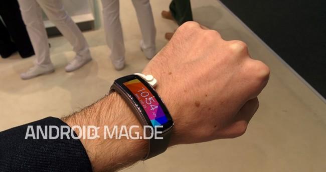Nach dem Vorbild der Gear Fit will auch HTC ein entsprechendes Armband anbieten.