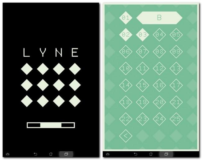 LYNE ist ein gut durchdachtes Puzzle-Spiel welches einen hohen Schwierigkeitsgrad aufweist.