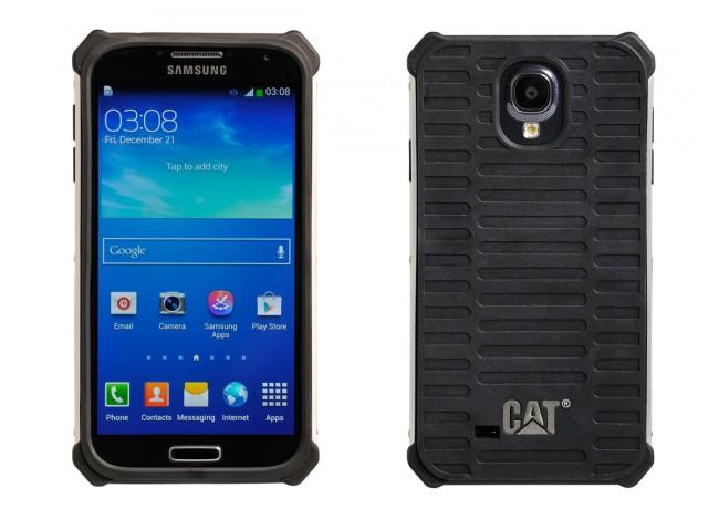 Das robuste Cat-Case für das Galaxy S4 ist aus einem speziellen, SAIF genannten, Material gefertigt (Foto: Catphones)