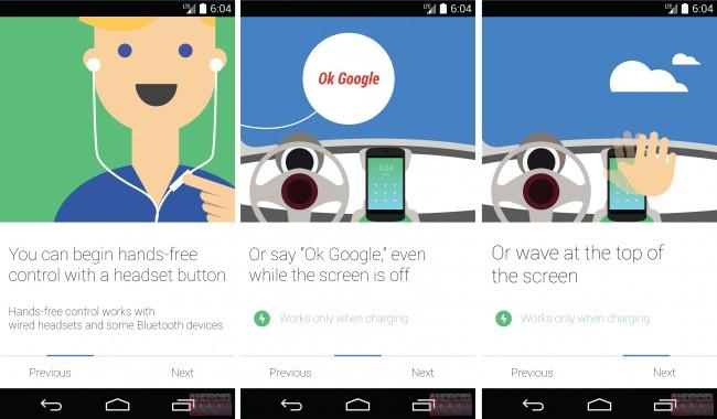 Mit diesen drei Möglichkeiten könnte Google Now (fast) freihändig aktiviert werden. (Foto: AndroidPolice)
