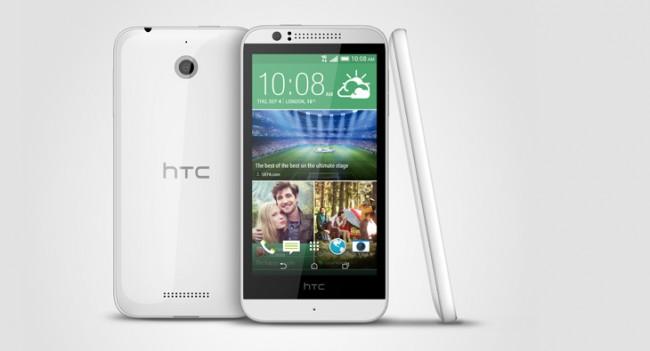 HTC bringt mit dem Desire 510 das erste Gerät mit 64-Bit Prozessor.