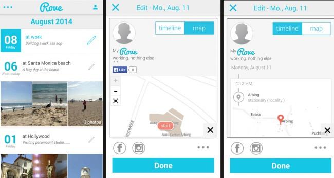"""Mit Hilfe von """"Social Media""""-Buttons kannst du dein Protokoll auch in den sozialen Netzwerken teilen."""
