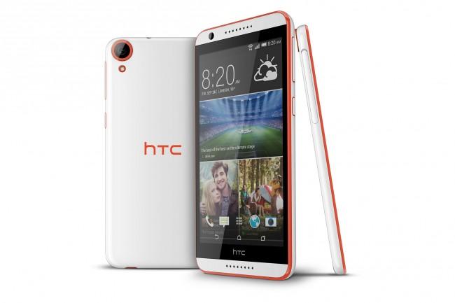 Dieses Smartphone stellt die neue Mittelklasse von HTC dar. (Foto: HTC)