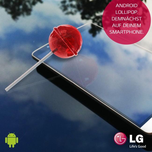 LG versorgt nächste Woche das G3 mit Android 5.0 Lollipop. (Foto: LG)