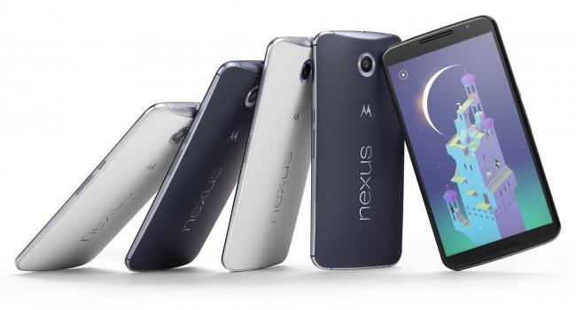 Das Nexus 6 ist das jüngste Gerät aus dem Hause Google und ist mit 6 Zoll das größe Nexus-Smartphone aller Zeiten. (Foto: Google)