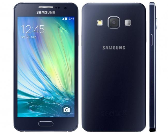 Beim Galaxy A3 enttäuscht das Display mit der qHD-Auflösung.