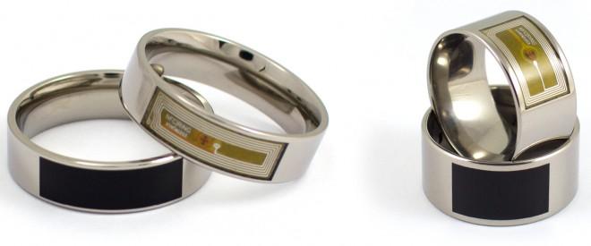 """Der """"NFC Ring"""" ist in drei Ausführungen erhältlich. Mit diesen Ringen kannst du beispielsweise dein Smartphone entsperren, Türen aufschließen und Informationen übermitteln (Foto: McLear Ltd.)"""