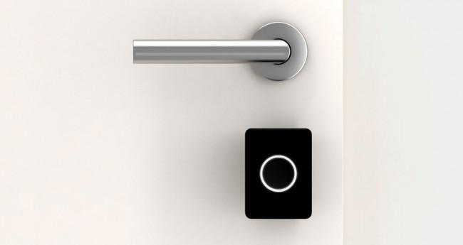 Dank des Türschlosses Noki kannst du deine Wohnungs- oder Haustür mit dem Smartphone auf- und zuschließen. (Foto: Noki Home Solutions GmbH)