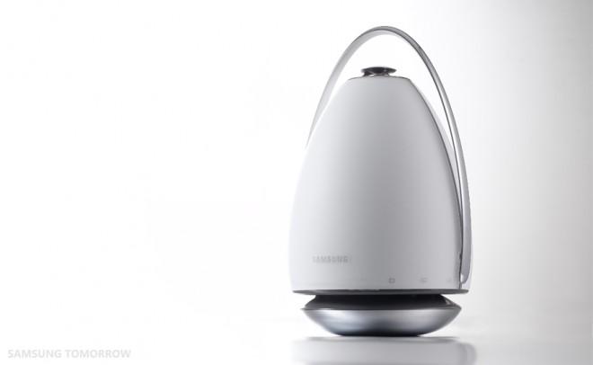 Auch der WAM6500 bietet 360°-Rundum-Klang, und hat sogar einen Akku eingebaut (Foto: SamsungTomorrow)