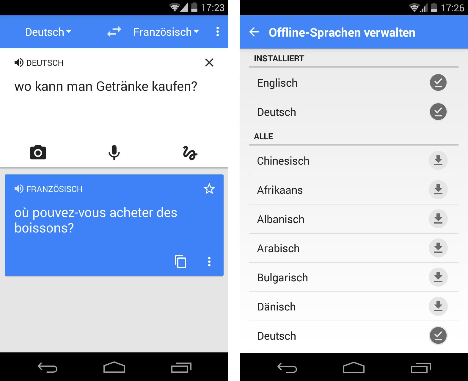 Haken Übersetzung französisch