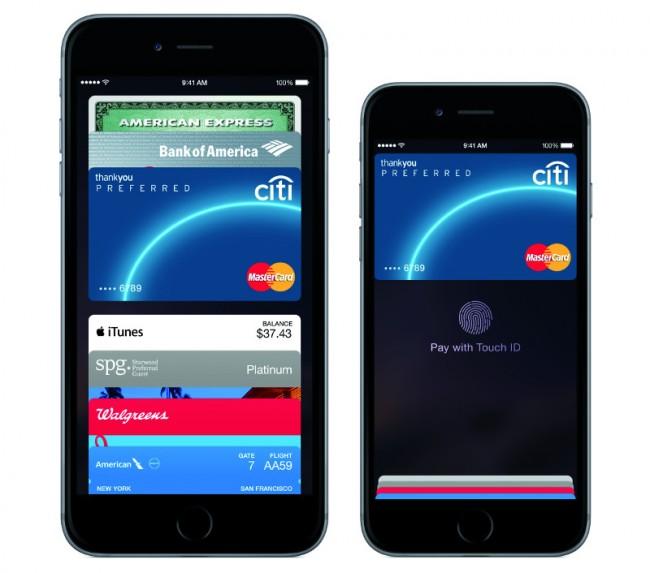 """Auch das Unternehmen Apple hat mit """"Apple Pay"""" ein vielversprechendes Bezahlsystem in seinem Portfolio. (Foto: Apple)"""