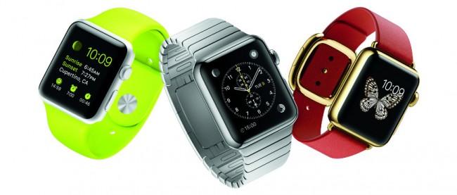 """Die """"Apple Watch"""", die ab April erhältlich ist, wird sich vermutlich einen großen Anteil des Smartwatch-Marktes einverleiben. (Foto: Apple)"""