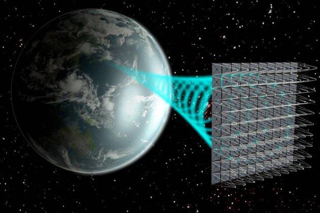 Solarpanels-Weltall