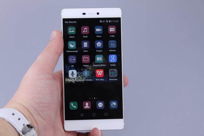 Huawei Ascend P8 Oberfläche/App Drawer