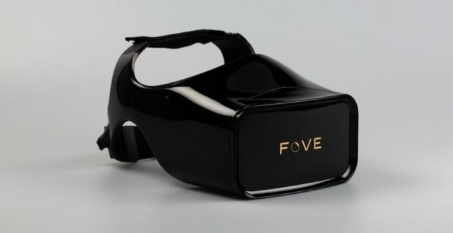 Die Fove-Brille wiegt 400 Gramm und soll ab Frühjahr 2016 erhältlich sein. Vorbestellen lässt sie sich für 349 US-Dollar. (Foto: Fove-inc.)