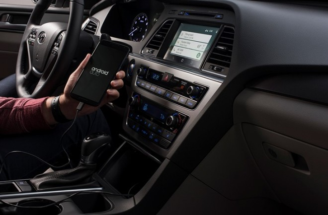 Android Auto in the 2015 Hyundai Sonata