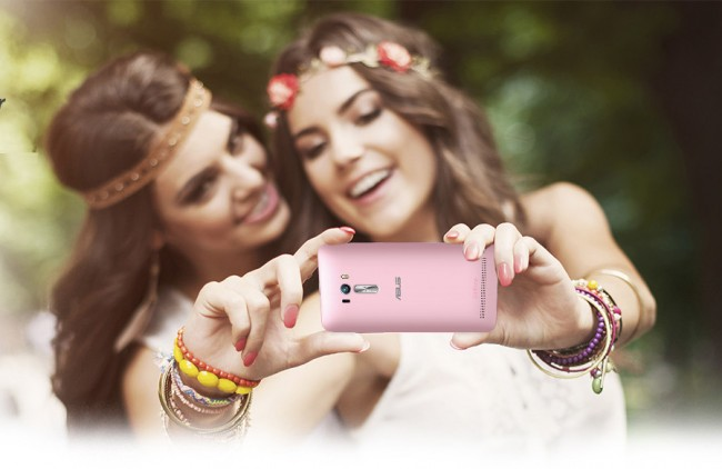 """Nicht nur Hippies freuen sich über die Möglichkeit, mit dem """"ZenFone Selfie"""" Selbstporträts in hoher Auflösung anzufertigen. (Foto: Asus)"""