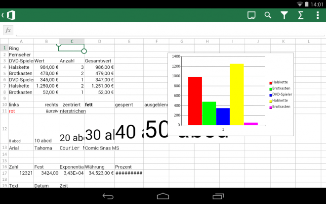 Microsoft Office Mobile 13