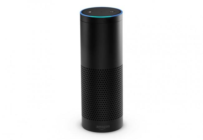 """Der stimmgesteuerte Assistent """"Echo"""" kann Fragen beantworten, Musik abspielen und andere Heimautomatisierungsgeräte kontrollieren. (Foto: Amazon)"""