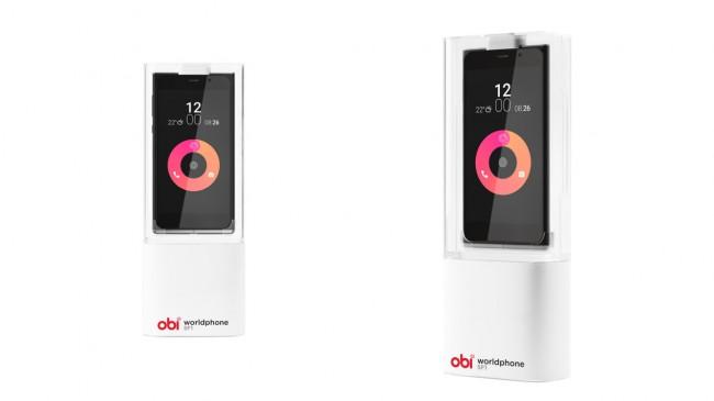 """Das """"Obi Worldphone SF1"""" verfügt über einen 5-Zoll-Bildschirm mit einer Auflösung von 1.920 mal 1.080 Punkten und über eine 13 Megapixel-Kamera. (Foto: Obi Worldphone)"""