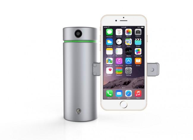 """Der """"Eora 3D""""-Scanner ist relativ preiswert, weil er die Kamera eines Smartphones als Eingabemedium verwendet. (Foto: Eora 3D)"""
