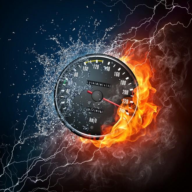 Geschwindigkeit,Tempo,Tempomessung,Hitze_shutterstock_65023999[Ra Studio]