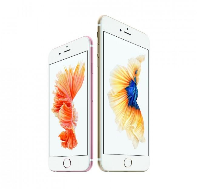 """Die Apple-Smartphones """"iPhone 6s"""" und """"iPhone 6s Plus"""" sowie auch die """"Apple Watch"""" verfügen bereits über druckempfindliche Bildschirme. (Foto: Apple Inc.)"""