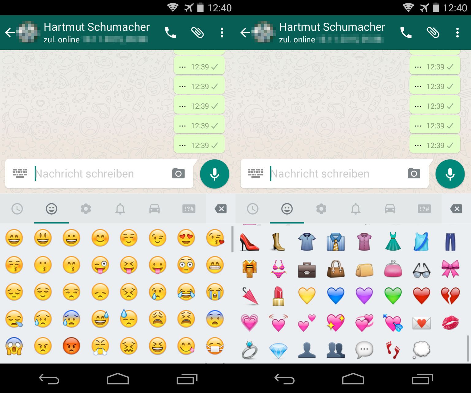 Iphone Whatsapp Smileys Neue