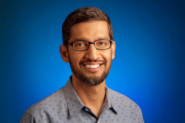 """Google-Geschäftsführer Sundar Picha :""""Wenn wir an der nächsten Version von Android arbeiten, Android N, werden wir vielleicht eine Online-Abstimmung veranstalten darüber, wie der Name lauten soll.""""  (Foto: Google)"""