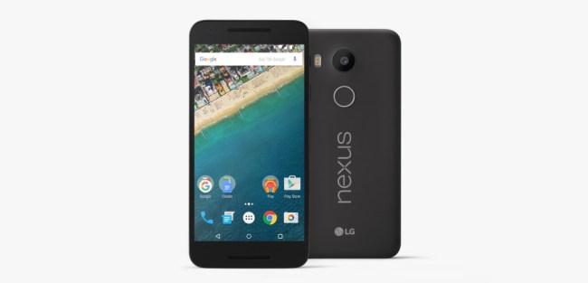 """Der Sicherheitsbericht weist darauf hin, dass Nexus-Smartphones ihre Betriebssystem-Updates besonders schnell erhalten. (Im Bild das Modell """"Nexus 5X"""".) (Foto: LG)"""