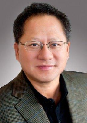 Nvidia Co-Gründer und CEO Jen-Hsun Huang; Quelle: Nvidia