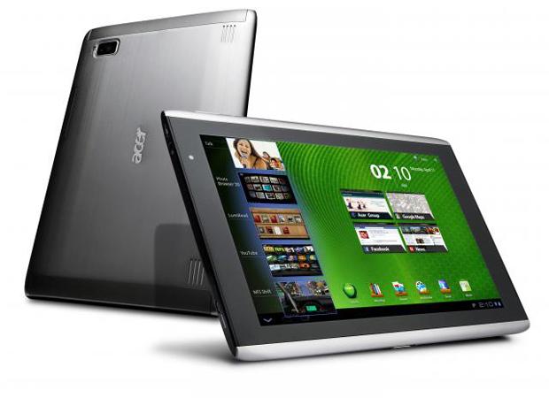 Die Acer-Iconia-Serie - hier ein A500 - bekommt bald preiswerten Zuwachs...