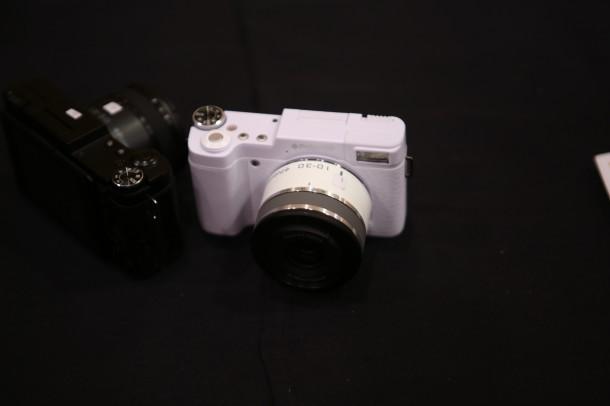Die Android Camera von Polaroid besitzt ein Wechselobjektiv. Foto: Techcrunch.