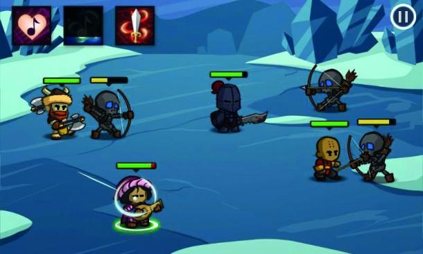Die Steuerung von Battleheart ist leider eher schlecht als recht.